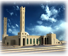 Mosque of the Custodian of the Two Holy Mosques - Aflaj Governorate