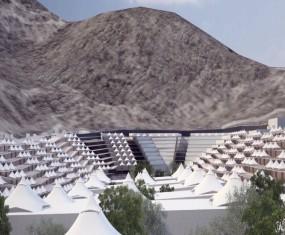 مشروع تطوير مخيمات مني - مكة المكرمه